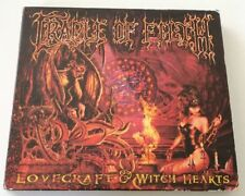 CRADLE OF FILTH LOVECRAFT & WITCH HEARTS BOX 2CD + POSTER ALBUM 2002 BLACK METAL