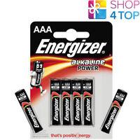 4 + 2 FREE ENERGIZER AAA ALKALINE POWER LR03 BATTERIEN 1.5V MICRO MN2400 AM4 E92