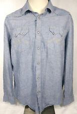 American Rag XL Western Snaps Long Sleeve Shirt Mens
