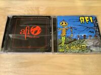 AFI 2 CD Lot  - Sing the Sorrow - All Hallow's EP