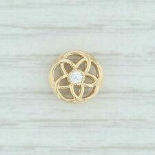 Authentic PANDORA Charm Loving Bloom in 14k Gold 750598CZ