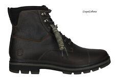 "Timberland Men's ""Port Union"" Dark Brown Leather Boots Size 13 NIB"