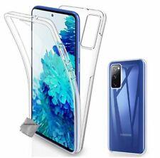 Housse etui coque gel 360 integrale pour Samsung Galaxy S20 FE 5G + film ecran -