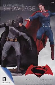 BATMAN V SUPERMAN WONDER WOMAN DC COLLECTIBLES SHOWCASE 2016  CATALOGUE