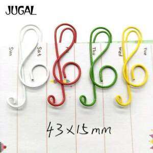 G Clef Paper Clips - Set of 20