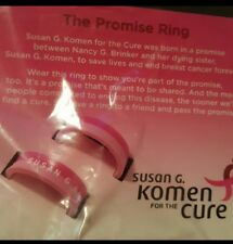 Breast Cancer Silicone Promise Ring