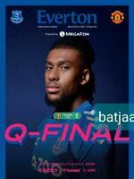 Everton v Manchester United (Scored 0:2) CARABAO CUP QUARTER FINAL 23/12/2020