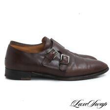 #1 MENSWEAR John Lobb England Oak Brown Naesby 7000 Prestige Last Shoes 10 E NR