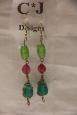 Jade Beaded Fashion Earrings