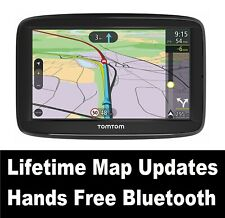 "TomTom Via 52 SatNav 5"" LCD Screen Western Europe Maps Lifetime Update BLUETOOTH"