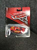 Disney Pixar Cars 3 Lightning Mcqueen Diecast Mattel 1:55 Scale  M49E