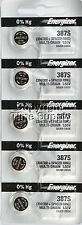 5 ENERGIZER 387S 387 Watch Battery Bulova Accutron 214 With SPACER RING 0%Hg