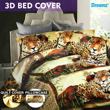Polyester Animal Print Quilt Covers