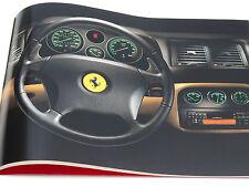 Ferrari 355 F1 Press Kit Brochure Catalog with Slides 1997