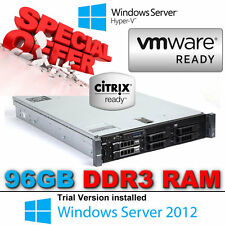 "Dell PowerEdge R710 2x Six Core Xeon X5670 2.93Ghz 96 Go DDR3 2 To SAS 3.5"" 7.2K"