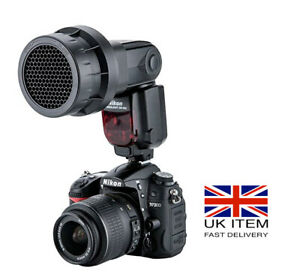 Speedlight Grid for Nikon SB-900/910  Honeycomb Light Modifier strobist UK Stock