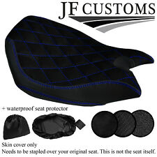 DSG4 BLUE ST CUSTOM FOR DUCATI PANIGALE 899 1199 FRONT SEAT COVER + WSP