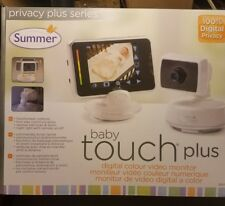 NEW!! Summer Infant Baby Touch Plus MONITOR 1 Cameras # 28620 BIN