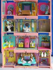 Mini Polly Pocket Deluxe Mansion Dream Builders Stapelvilla 4 Figuren Bluebird