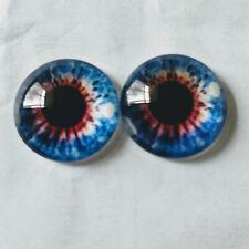 Violet yeux en verre idéal pour aiguille feutrage taxidermie Dragon Oeil de Chat 019