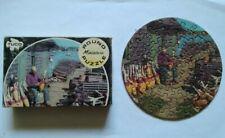 Vintage TUCO Miniature Round Puzzle, Mt. Desert Island, Maine - COMPLETE