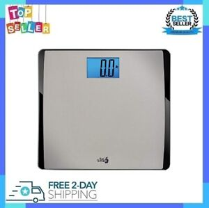 High Capacity Digital Bathroom Scale W/ Extra Wide Platform Precision 550 Pound