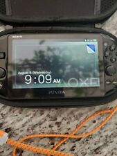 PS Vita Wi-Fi OLED PCH-2001 + 8Gb Memory Card + Charger + Case