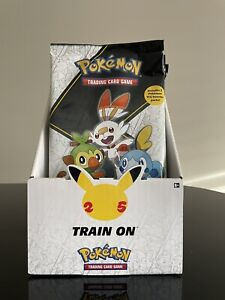Pokemon TCG Trading Card Game Galar First Partner Pack 25th Anniversary