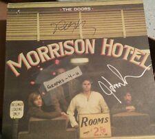 John Densmore Robby Krieger Signed The Doors Autograph proof COA  E