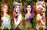 """Jigsaw Puzzles 1000 Pieces """"Goddess of the four seasons"""""""
