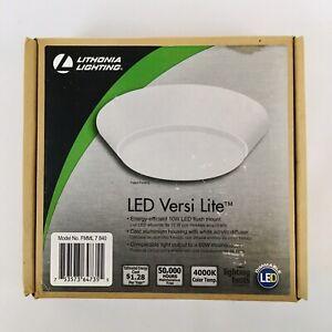 Lithonia Lighting LED Versi Lite 10W LED Flush Mount White Ceiling Light