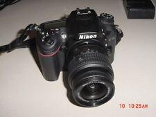 NIKON D7100 DIGITAL CAMERA 18-55mm & 55-300mm LENS - CASE AND ACCESSORIES