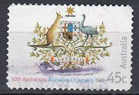 Australien Briefmarke gestempelt 45c 50th Anniversary Citizenship 1999 / 33