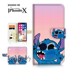 ( For iPhone XS MAX ) Wallet Case Cover P21578 Cute Little Monster