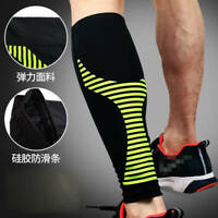 Elastic Calf Compression Sleeve Support Leg Running Sock Medical Stretch Guard *