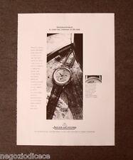 [GCG]  P535 - Advertising Pubblicità -1992- JAEGER LE COULTRE GEOGRAPHIQUE
