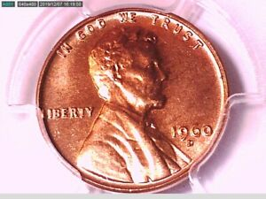 1960 D Lincoln Memorial Cent PCGS MS 64 RD Small Date 29924867 Video