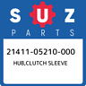 21411-05210-000 Suzuki Hub,clutch sleeve 2141105210000, New Genuine OEM Part