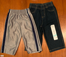 Jumping Beans Jeans 12 months + Faded Glory Joggers Kid's Jogging Sweatpants
