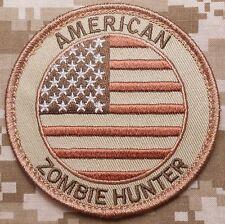 Usa Zombie Hunter Outbreak Response Team Desert Velcro® Brand Fastener Patch