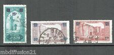 1930/31-COLONIES FRANCAISES//MAROC//3xTIMBRES OBL.**STAMP.Y/T.125/7