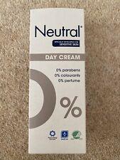 Brand new - 50ml Neutral 0% Day Cream, Paraben / Perfume / Colorant-Free.