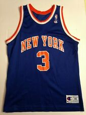 JERSEY MAILLOT NBA CHAMPION NEW YORK JOHN STARKS