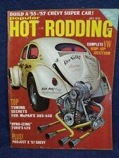 POPULAR HOT RODDING~JULY 1970~VW HOP-UP SECTION, MOPAR 383-440 TUNING, FORD 429