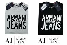 MENS AJ  ARMANI JEANS SHORT SLEEVE CREW NECK T-SHIRT  ONLY THREE DAYS SALE