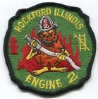 Illinois - Rockford Eng 2 Company Patch (Emblem)