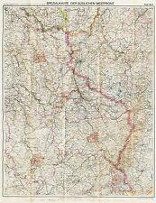 ERNEST HEMINGWAY Signed, FLEMMINGS KRIEGSKARTE #24 WWI German Westfront 1918 MAP