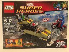 LEGO Marvel Super Heroes 76017 Captain America vs. Hydra New RETIRED