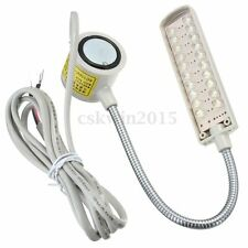 Sewing Machine 20 LED 220V Magnetic Flexible Mounting Light Lamp Gray New