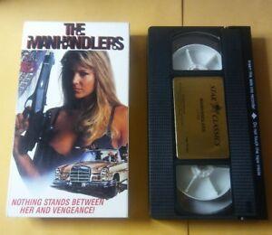 The Manhandlers VHS Cara Burgess 1991 Sleeze Trash Cult TransWorld Star Classics
